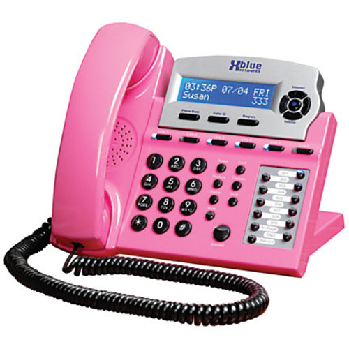XBLUE Networks X16 Corded Telephone System, Pink