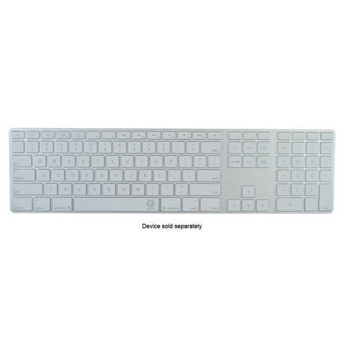 EZQuest - Invisible Keyboard Cover for Apple Wired Keyboard with Numeric Keypad - Clear