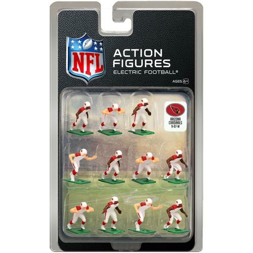 Tudor Games Arizona Cardinals White Uniform NFL Action Figure Set