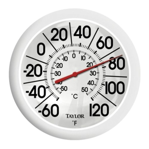 Taylor Dial Thermometer White(5650)