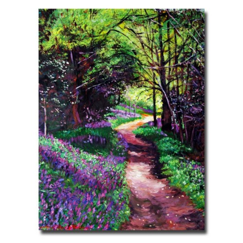 Trademark Fine Art 'Lavendar Lane' 24