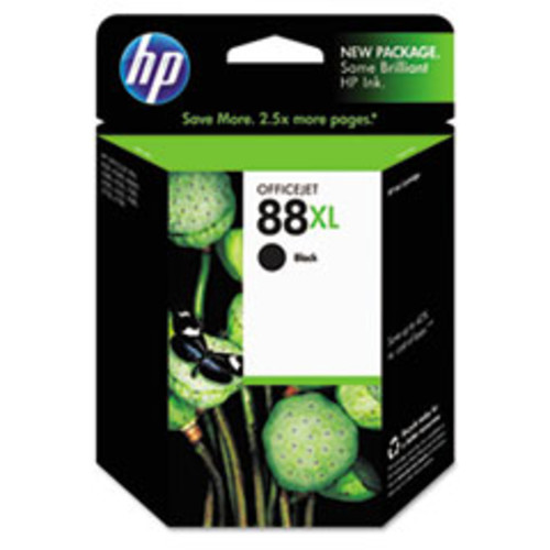 Hewlett Packard C9396AN#140 HP 88XL Black High Yield Original Ink Cartridge (C9396AN)