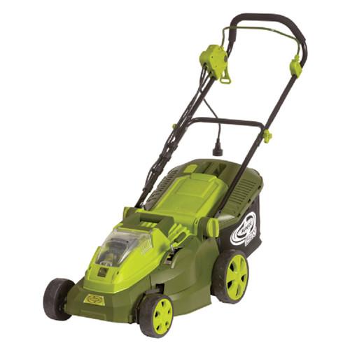 Sun Joe iON16LM-HYB iON 40-Volt Hybrid Cordless or Electric 16-Inch Lawn Mower