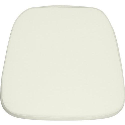 Flash Furniture Soft Ivory Fabric Chiavari Chair Cushion [White, Home & Garden]