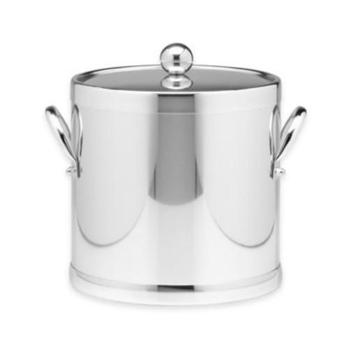 Kraftware Americano 3 qt. Ice Bucket in Chrome