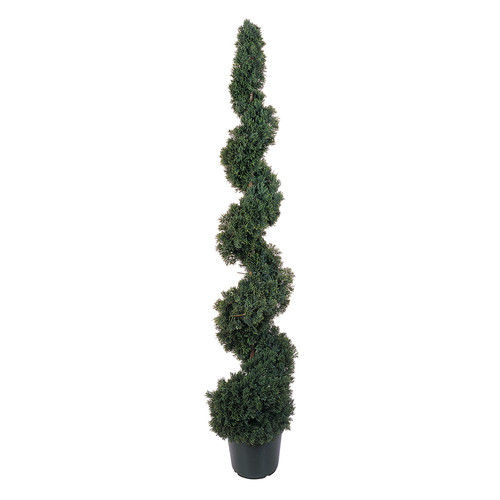 nearly natural 5-ft. Silk Cedar Spiral Tree