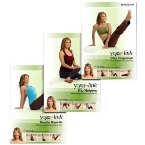 Yoga Link: Harmonizing Hips Shoulders & Core (3 Disc) (DVD)