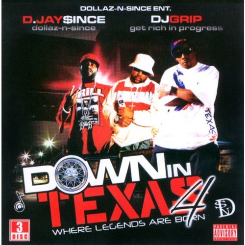 Down in Texas, Vol. 4 [CD] [PA]