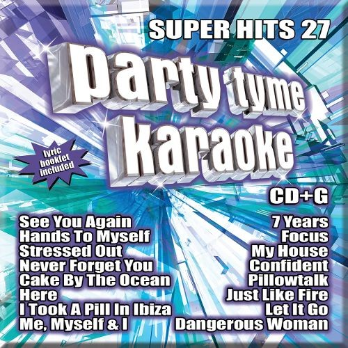 Party Tyme Karaoke: Super Hits, Vol. 27 [CD]