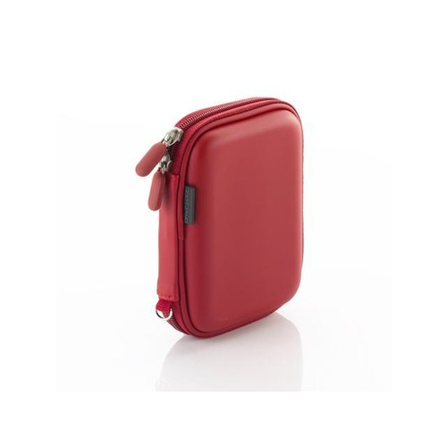 Drive Logic DL-54-RED EVA Compact Case for Portable External Hard Drives, Red