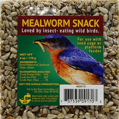 Small Mealworm Cake