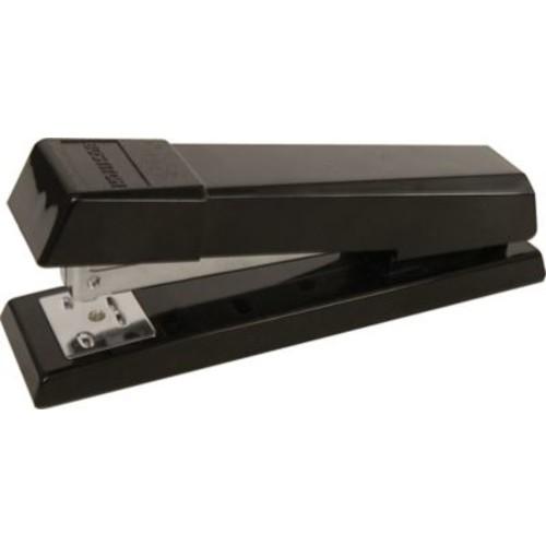 Stanley Bostitch AntiJam Half Strip Desktop Stapler, Fastening Capacity 20 Sheets/20 lb., Black