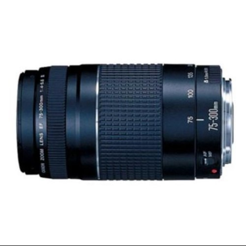 Refurbished Canon EF 75-300mm f/4-5.6 III Telephoto Zoom Lens for Canon SLR Cameras