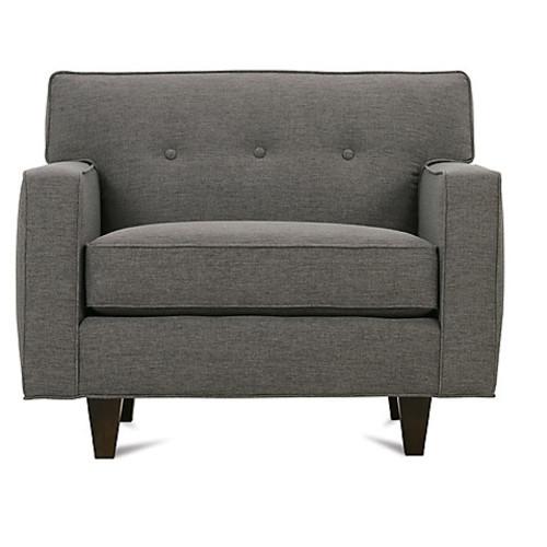 Mia Club Chair, Gray