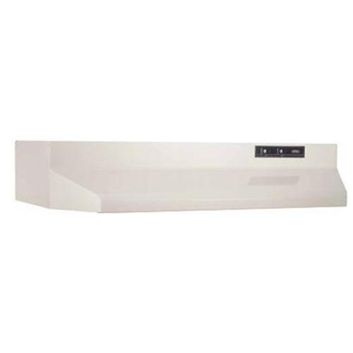 160 CFM Under Cabinet Range Hood - Color: Bisque, Width: 36