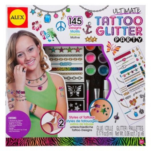 Ultimate Tattoo Glitter Party Kit-