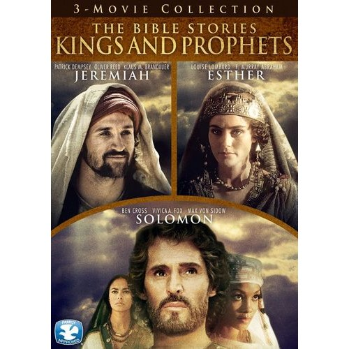 The Bible Stories: Kings and Prophets - Jeremiah/Esther/Solomon [3 Discs] [DVD]