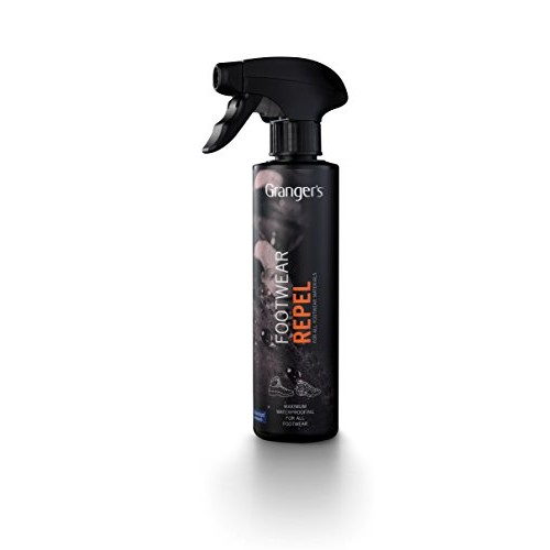 Granger's Footwear Repel Waterproofing Spray / 9.3 oz / Made in England: Sports & Outdoors