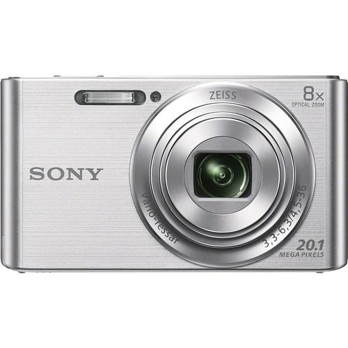 Sony DSC-W830/B Digital Camera (Silver)