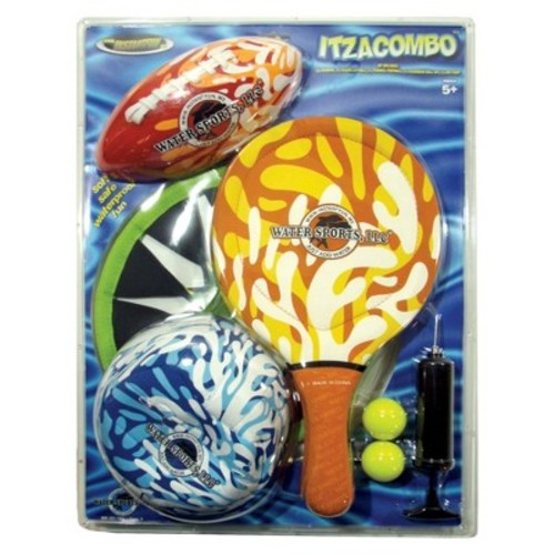Optimum Fulfillment Itza Combo Beach Game Set