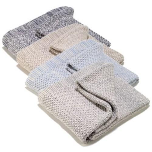 Aura Two-Tone Throw Blanket