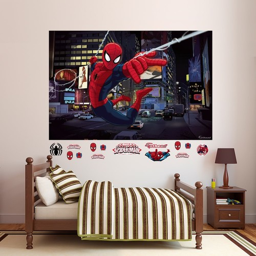 Marvel Ultimate Spider-Man Mural Wall Decal by Fathead