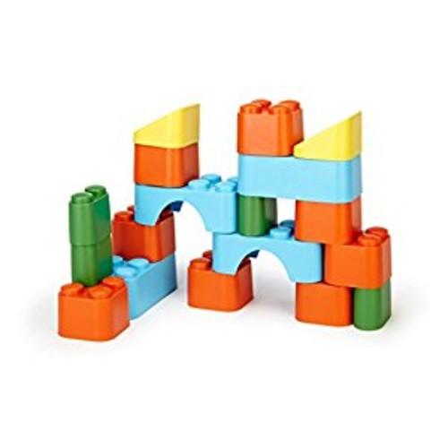 Green Toys Block Set, Multi [Standard Packaging]