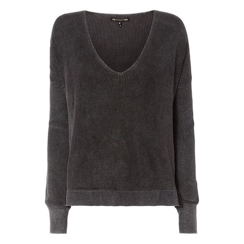 RAG & BONE /Jean Taylor Washed V-Neck Knit