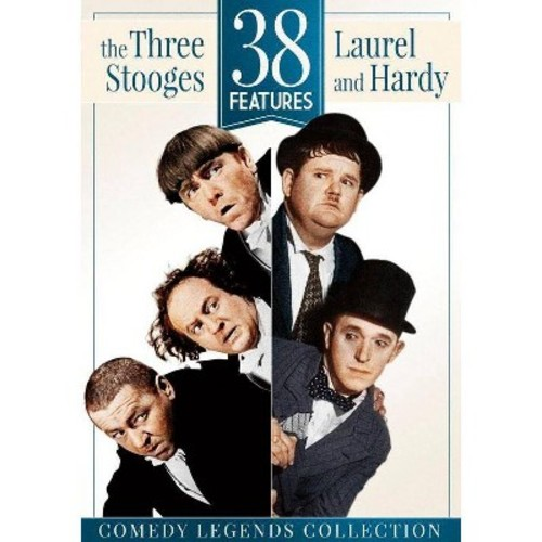 38 Features: The Three Stooges and Laurel & Hardy [DVD]