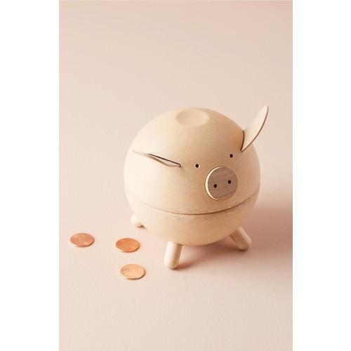 Wooden Piggy Bank [REGULAR]