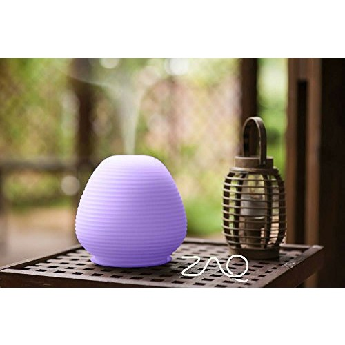 ZAQ Paradise Glass Litemist Aromatherapy Essential Oil Aroma Diffuser, for Living Room, Spas, Use any Essential oils