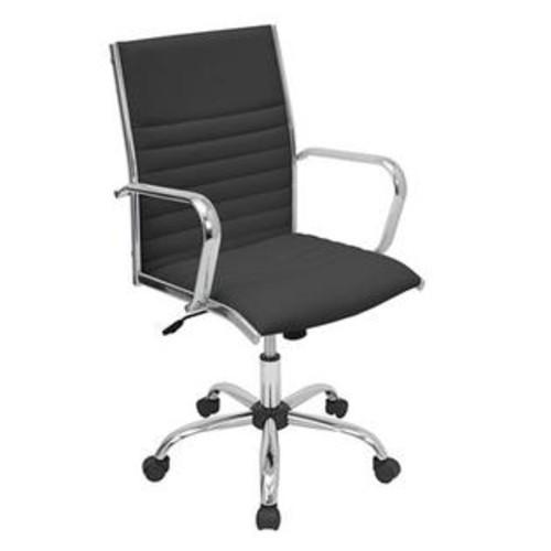 Lumisource OFC-AC-MSTR BK Master Office Chair (ATG_OFCACMSTRBK), Black, Black