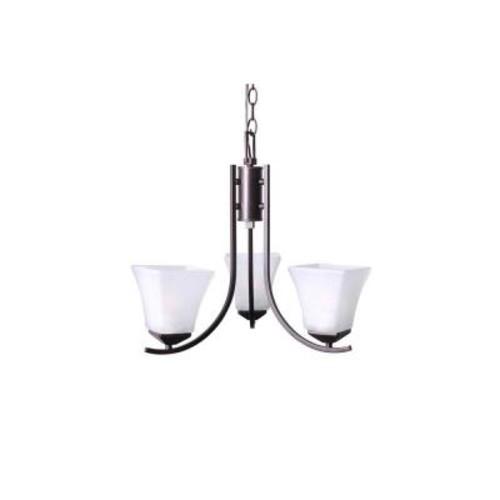 Design House Torino 3-Light Brushed Bronze Chandelier