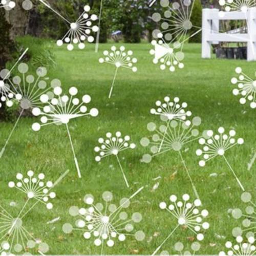 Odhams Press Dandelion Decorative Window Film; 45'' H x 36'' W