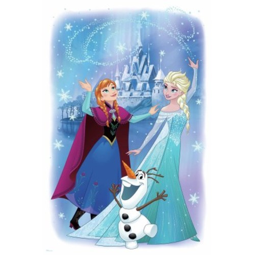 RoomMates Decor Frozen Magic Peel-and-Stick Giant Wall Graphic