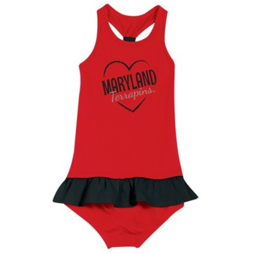 Maryland Terrapins After Her Heart Toddler Dress