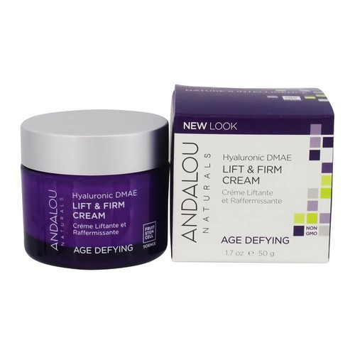 Andalou Naturals Hyaluronic DMAE Lift & Firm Cream - 1.7 Oz