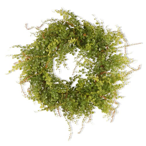 National Tree Company 22 in. Garden Accents Boxwood Berry Wreath