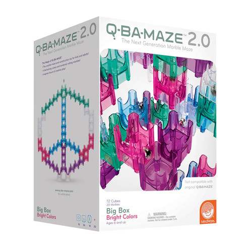 Q-Ba-Maze 2.0 Big Box Bright Colors