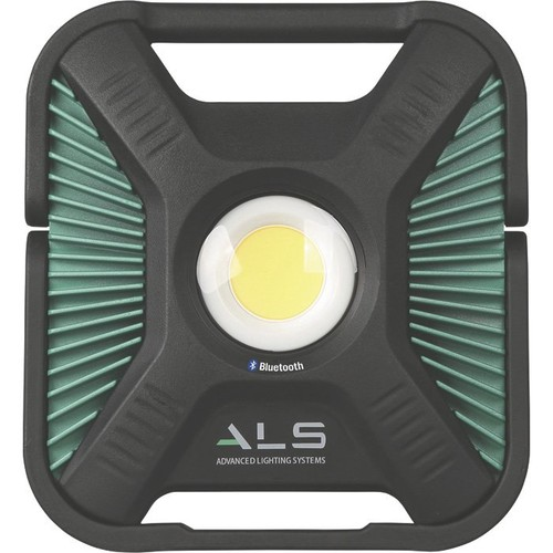ALS High-Efficiency Rechargeable COB LED Light with Bluetooth  Battery Powered, 1200 to 6000 Lumens, Model# AL60-4000-01