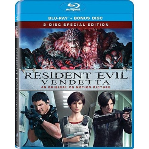 Resident Evil: Vendetta [Blu-Ray] [Bonus Disc]