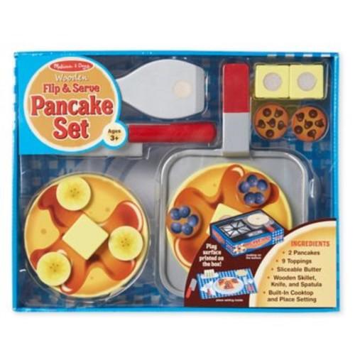 Melissa & Doug Wooden Flip and Serve Pancake Set