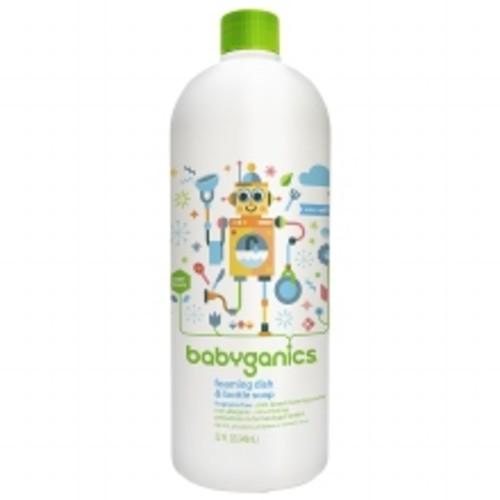 Babyganics Foaming Dish & Bottle Soap Refill Fragrance Free