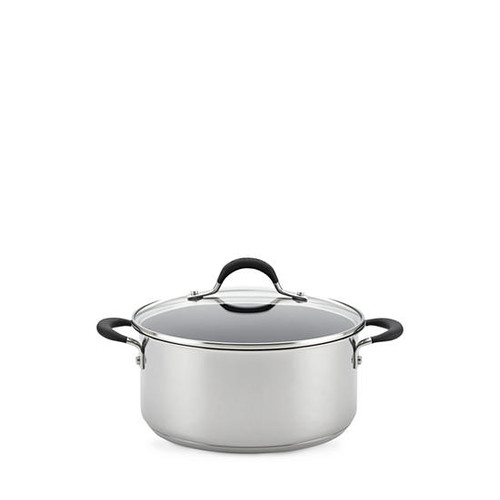 Circulon 5-qt. Momentum Stainless Steel Non-Stick Covered Dutch Oven