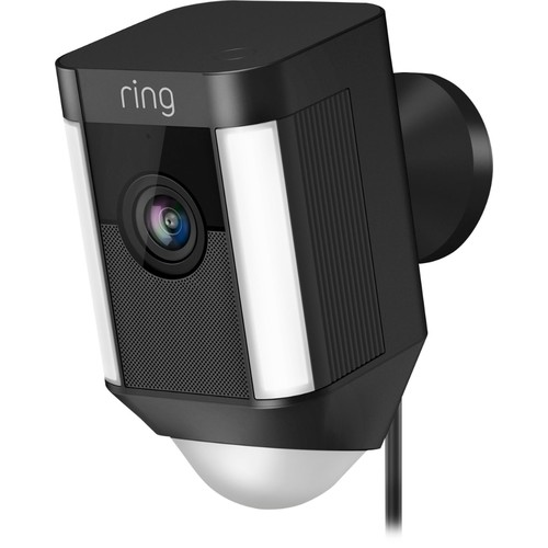Ring - Spotlight Cam Wired - Black