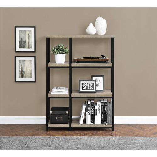 Dorel Elmwood 3 Shelf Sonoma Oak Bookcase