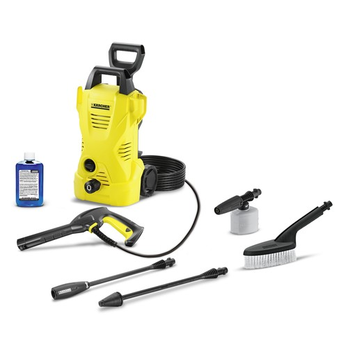 Karcher 1,600psi Pressure Washer with Car Care Kit