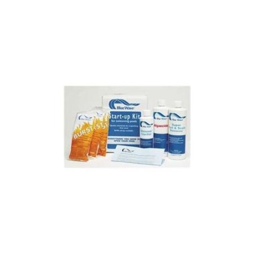 Blue Wave NY976 Blue WaveSpring Chemical Start-Up Kit - 7,500 Gallon