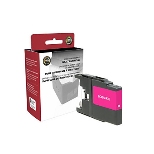 Clover Technologies Group High-Yield Remanufactured Ink Cartridge, Magenta, 118009 (Brother LC79M)