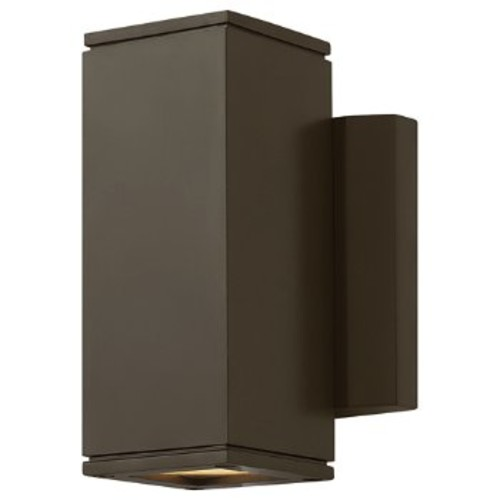 Kore Wall Sconce [Finish : Bronze; Light Option : Uplight and Downlight]